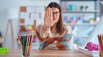 Ansatte er redde for å synge i barnehagen