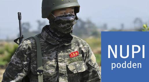 Sør-Korea ruster opp i skjul