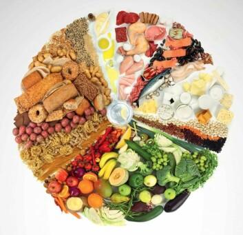 Et variert kosthold er bedre for helsen enn vitamintilskudd. (Foto: Helsedirektoratet)