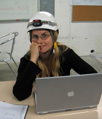 """""""- Tiden framover kommer til å by på mye spenning, mye moro og mye hardt arbeid. Norske forskere har en unik mulighet til å være med på det fremste innen fysikk ved å delta i arbeidet på CERN, sier postdoktor Heidi Sandaker ved Universitetet i Bergen. (Foto: M. Jaekel, CERN)"""""""