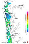 radon kart bergen Radioaktive Vestlands kart radon kart bergen