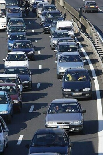 Hvordan unngår man trafikkorker? (Illustrasjonsfoto: Colourbox)