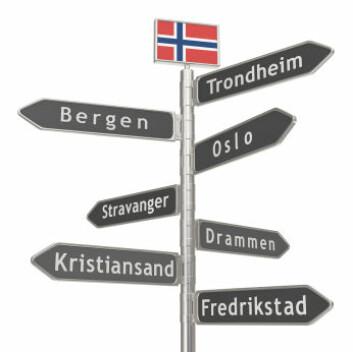 Dansketida hadde stor innflytelse på stedsnavnene våre. (Foto: iStockphoto)
