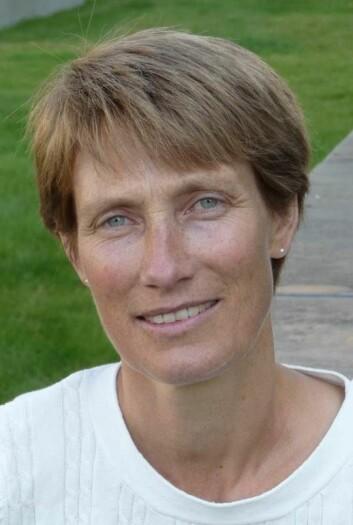 Forsker Heidi Lyng ved Institutt for kreftforskning, OUS. (Foto: Privat)
