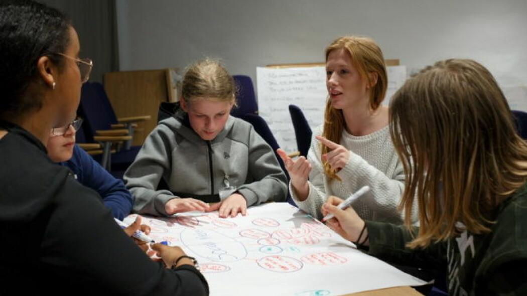 Samfunnsfag skil seg frå andre fag ved at det er eit mål er at elevane skal ta del i samfunnet dei lever i.