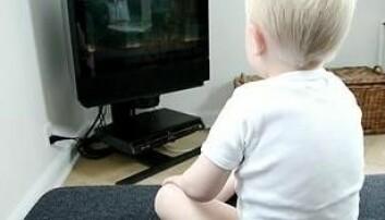 - Fjern TV-en fra barnerommet