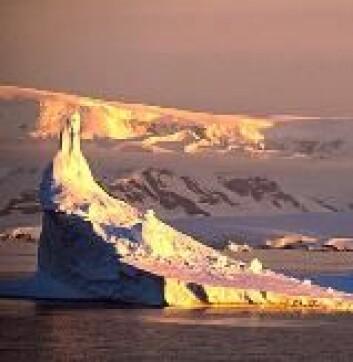 """""""Den nye studien hevder at EUs klimamål er alt for beskjedent til å hindre en nedsmelting av fastlandsisen i blant annet Antarktis (bildet) og på Grønland på lang sikt. Resultatet kan bli en katastrofal økning av havnivået."""""""
