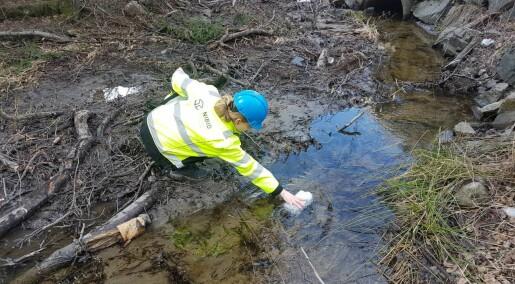 Skal undersøke vannmiljøet langs ny veistrekning