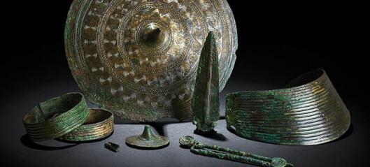 3500 år gamle bunadsmykker