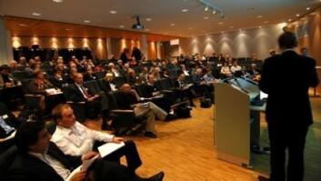 """""""Forskningsrådet arrangerte en konferansen i Oslo i slutten av oktober som startskudd for Regional foresight. (Foto: Atle Abelsen)"""""""
