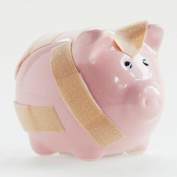 Sparebankene trosser klassisk finansteori. (Illustrasjonsfoto: www.colourbox.no)