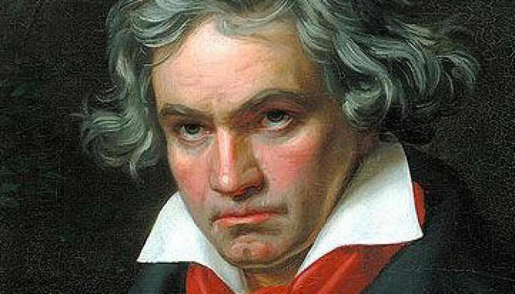 Portrett av Ludwig van Beethoven ca. 1820. (Illustrasjon: Joseph Karl Stieler)