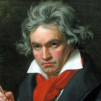 Portrett av Ludwig van Beethoven ca. 1820. (Foto: (Illustrasjon: Joseph Karl Stieler))