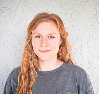 Doktorgradsstipendiat Evi Petersen ved USN.
