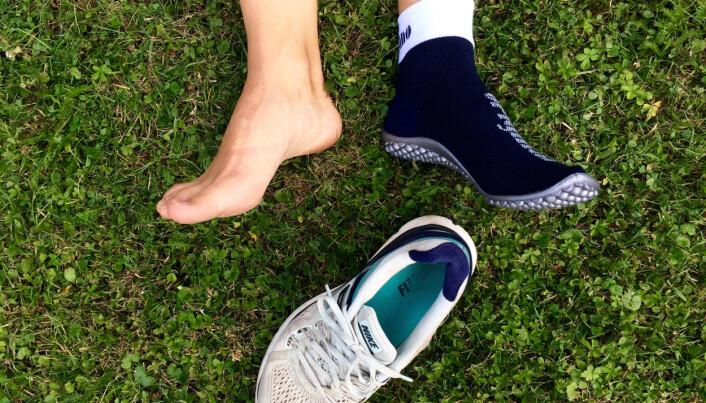Barfotsko, også kalt minimalistiske sko, blir brukt av de som jakter på den ultimate løpe-opplevelsen. Nå har forskere testet skoene på eldre.