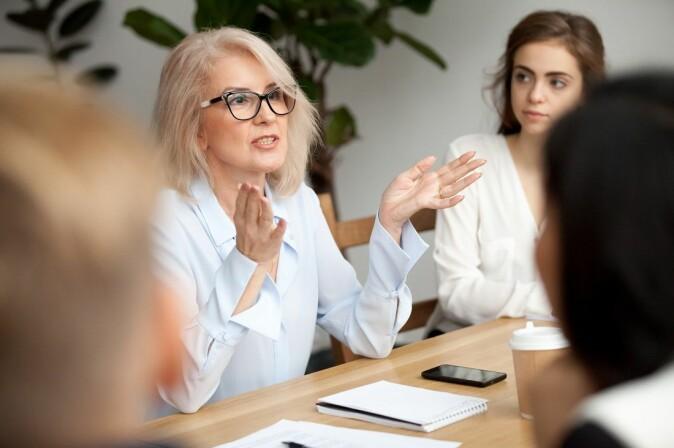 Møter domineres ofte av noen få, eller kanskje bare én person. Det er ikke alltid enkelt å vise at du er uenig.