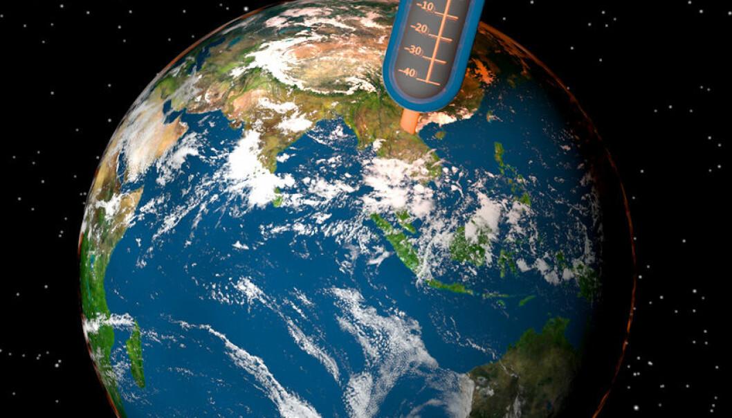 Over 6 graders temperaturauke svært usannsynleg ved dobling av CO2-nivå