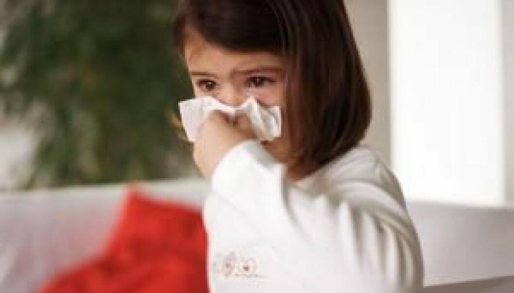 Forkjølelse kan utløse astma