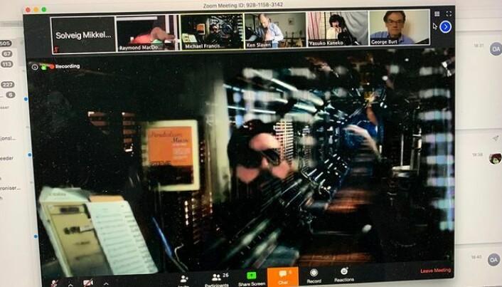 Michael Francis Duch får utnyttet sitt musikalske nettverk på en ny måte ved hjelp av Zoom.
