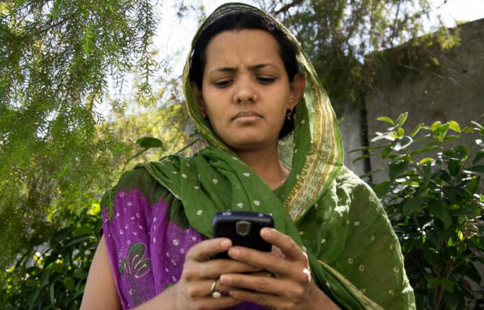 Appen mot overgrepstraumer kan bli nyttig på steder uten et godt hjelpeapparat. (Foto: iStockphoto)
