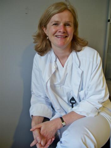 Anne Gry Bentzen. (Foto: Elisabeth Øvreberg)