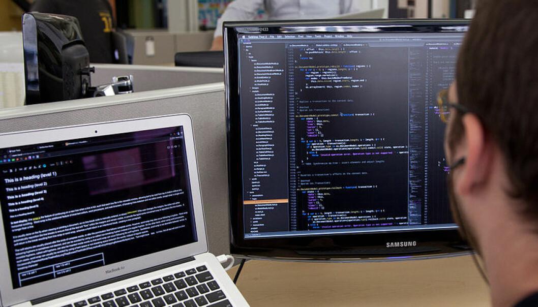 - Vi underviser gårsdagens programmerere