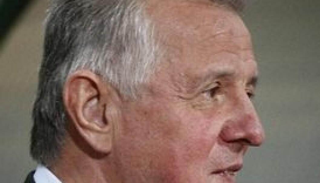 Ungarns president Pal Schmitt måtte gå av etter plagieringsanklager. Laszlo Szirtesi/ Shutterstock