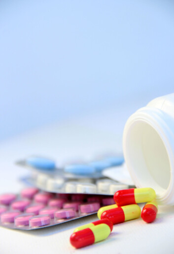 Ifølge dansk overlege tar opp mot ti prosent av pasientene SSRI-medisin, også kalt «lykkepiller», på feil grunnlag. (Foto: Colourbox)
