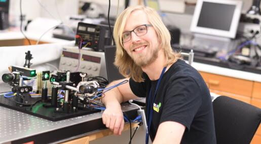 Norske robotøyne skal sortere prøver på Mars