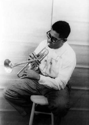 En annen jazzambassadør var Dizzy Gillespie, som imidlertid ikke oppførte seg helt som det amerikanske utenriksdepartementet ønsket seg. (Foto: Wikimedia commons)