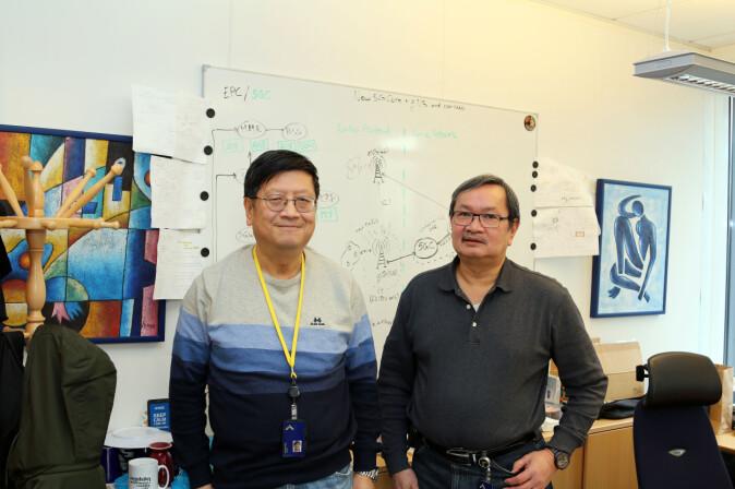 Boning Feng og Thanh Van Do forsker på 5G med EU-midler og med eget 5G-nett på OsloMet. De mener Norge kan hevde seg i løsninger for 5G. De ser svært mange muligheter, og noen sikkerhetsutfordringer.