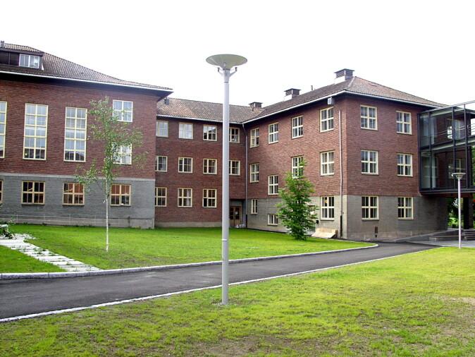 Meieribygningen ved NMBU, hvor forskningen på mikrobiologi startet i underetasjen.