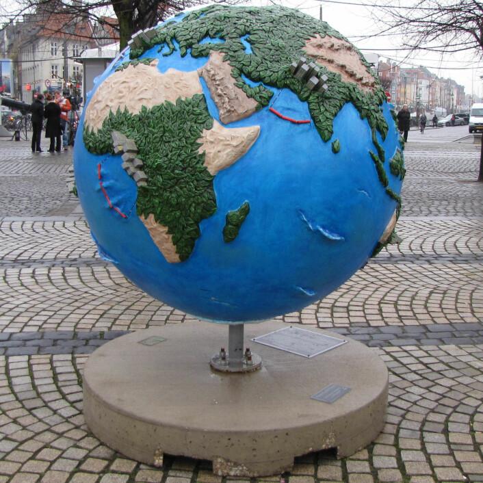 Det er klart for FNs årlige klimamøte. Bildet er fra møtet i København for to år siden. (Foto: Bjørnar Kjensli)