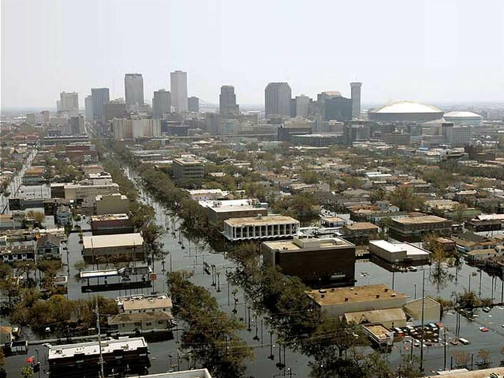 Flommer langs Mississippi kan gjøre stor skade. (Foto: Shutterstock)
