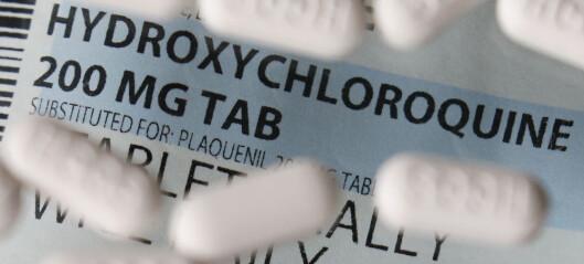 Frankrike stanser forsøk med malariamedisin på koronapasienter
