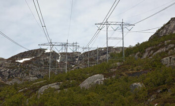 Tusen kilometer inngrepsfri natur har gått tapt i løpet av de siste fem årene. Av disse står energitiltak for 40 prosent. (Illustrasjonsfoto: www.colourbox.no)