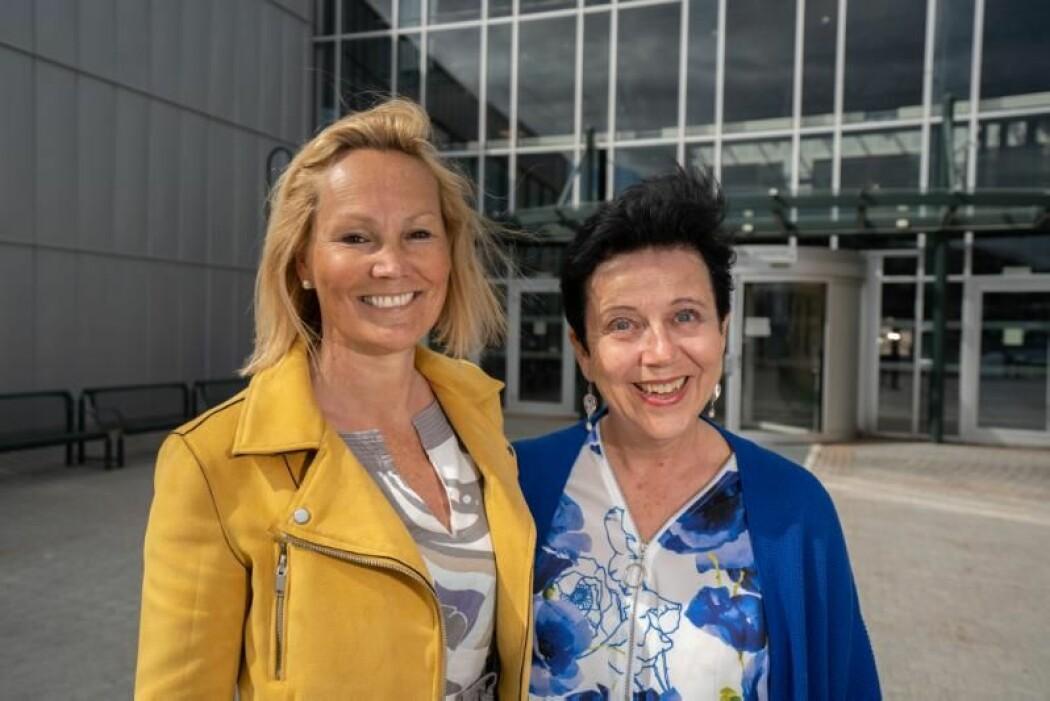 Professor Rikke Gürgens Gjærum og førsteamanuensis Gro Hilde Ramsdal.