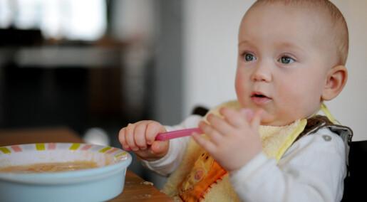 Ett- og toåringene spiser bedre mat