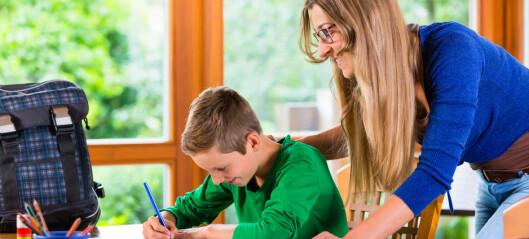 Foreldre som bryr seg bidrar til at barn lykkes på skolen