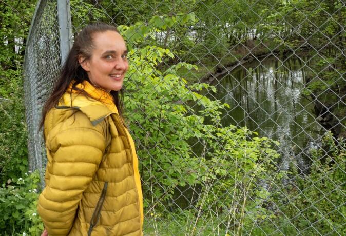 Hoffselva er en av få i Oslo som har plass til å renne ut i fjorden, peker Elin T. Sørensen på. – Det store spørsmålet er hvordan elva behandles videre i byplanleggingen, sier hun.