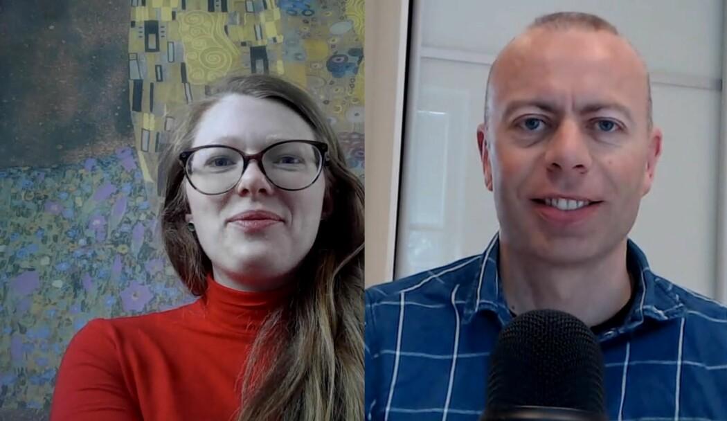 Solveig Engebretsen og Anders Løland snakker om R i første episode av podcasten Sannsynligvis VIKTIG.