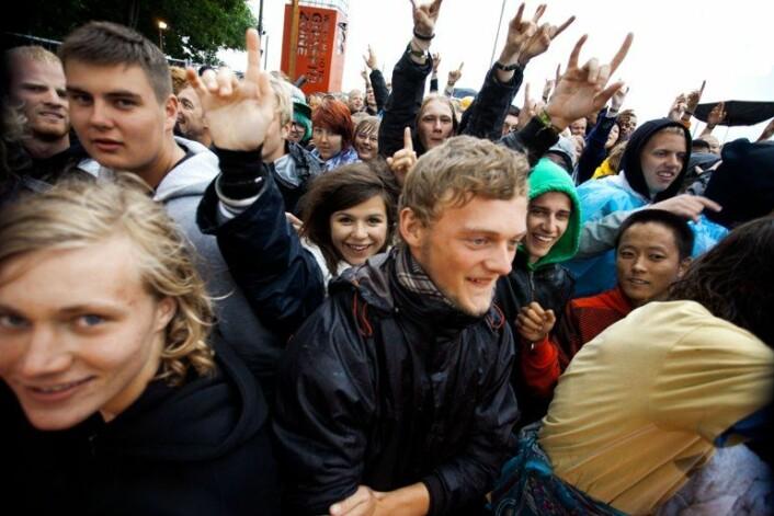 Konsertopplevelsene er intime på Roskildefestivalen. (Foto: Ivan Riordan Boll)