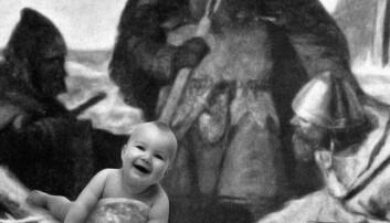 Kva skulle barnet heite i norrøn tid?