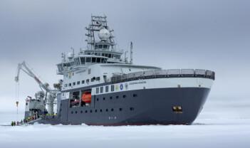 Viruseffekt på arktisk havforskning