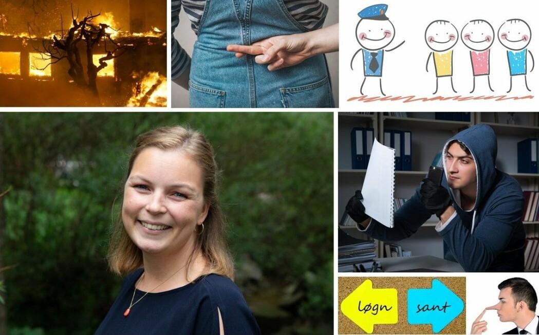 Marthe Lefsaker Sakrisvold forsker på sannhet og løgn. Da ber hun folk snike seg rundt for å stjele dokumenter.