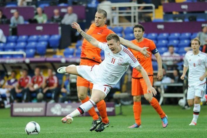 Danmark beseiret Nederland i både 1992 og 2012. Her fra 2012. (Foto: Wikimedia Commons)