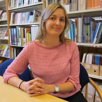 Silje Ormhaug er psykologspesialist og doktorgradsstipendiat. (Foto: Elin Fugelsnes)
