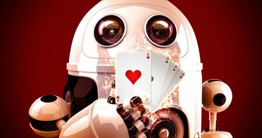 Ville du stolt på at en robot ikke lurte deg i kortspill?