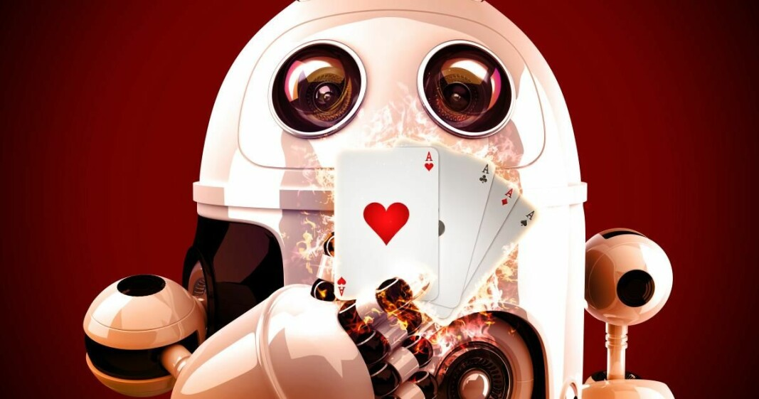 Would you trust a robot to not fool you in card games?