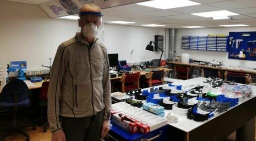Forsker på nytt utstyr i kampen mot koronaviruset
